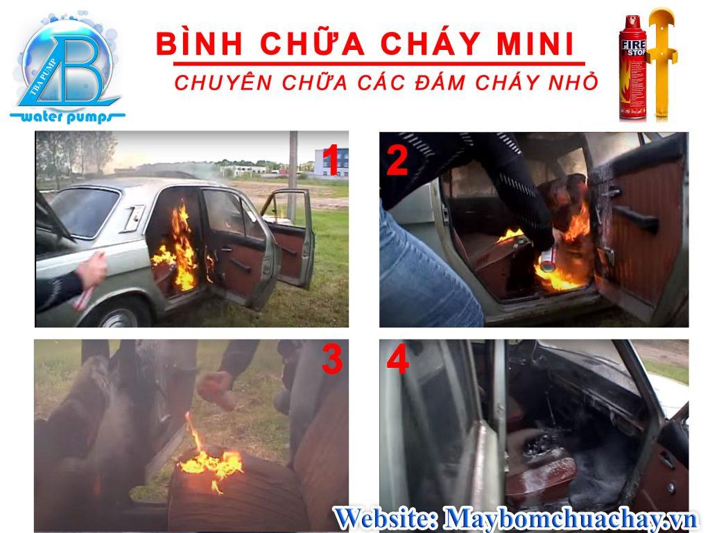 Chữa cháy cho xe