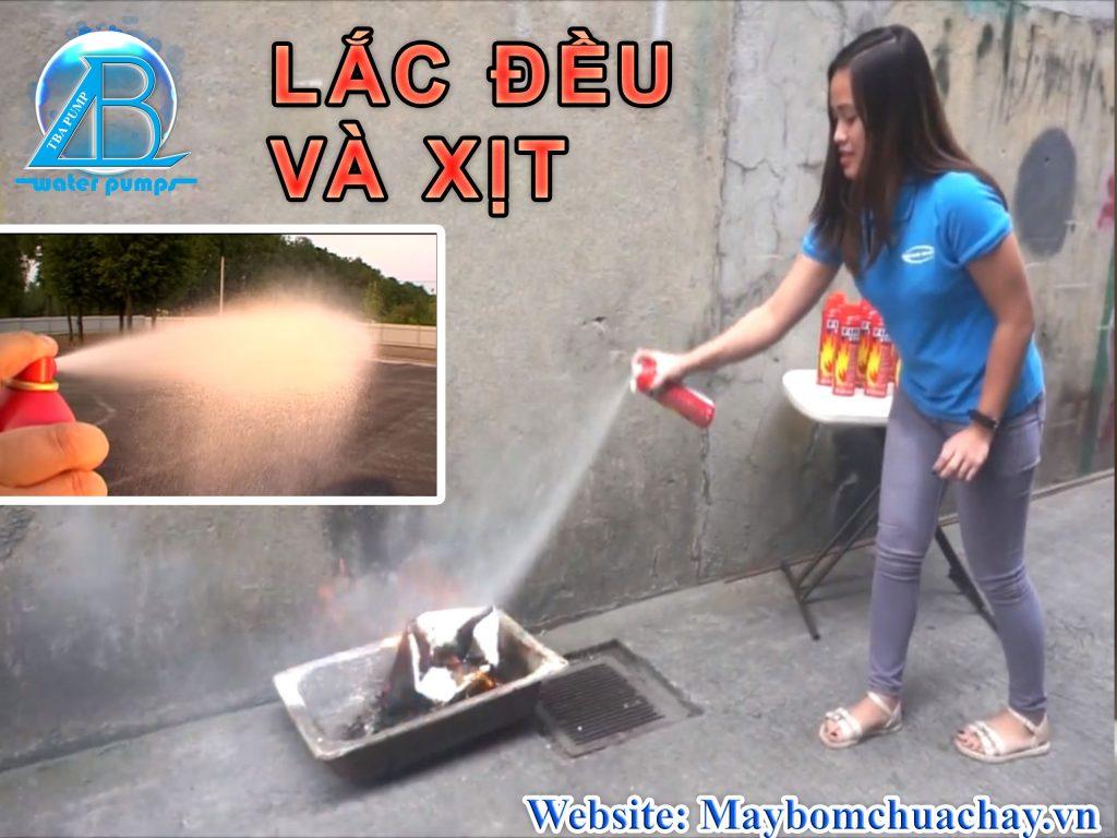 Hướng dẫn sử dụng Bình chữa cháy mini
